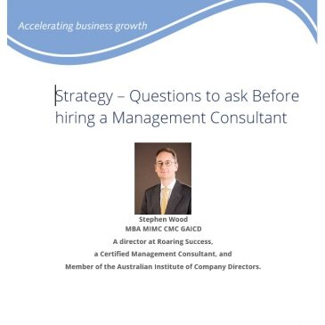 Questions to ask before hiring a consultant